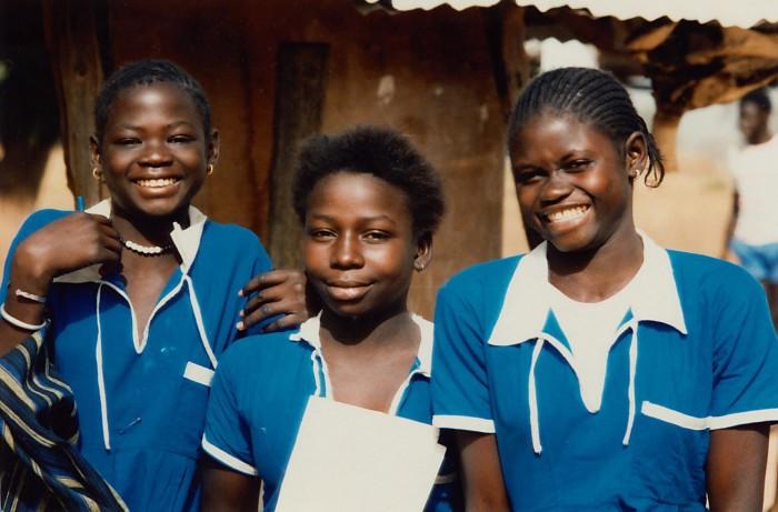 Gambian girls