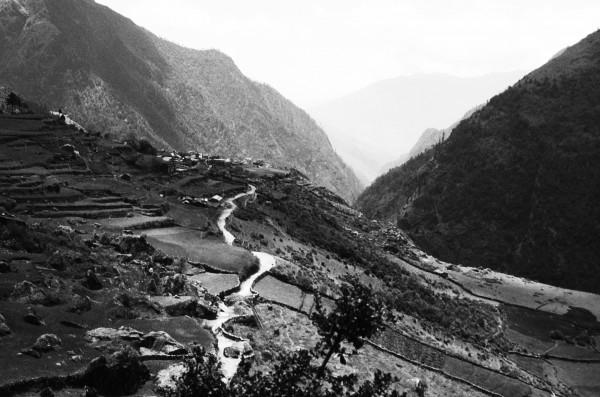 Trekking Path in Nepal